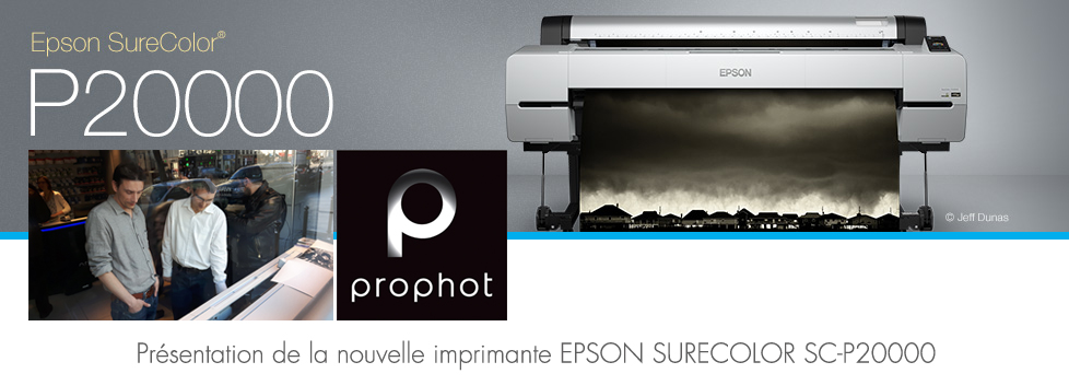 Présentation de l'imprimante Epson Sure Colore P20000