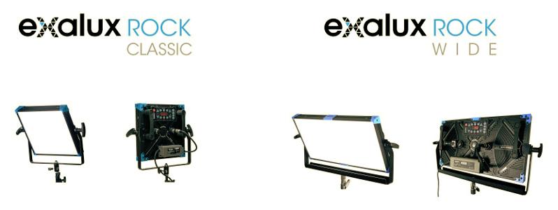 Panneaux LED Exalux Rock