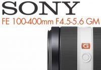 Sony Objectif 100-400 mm