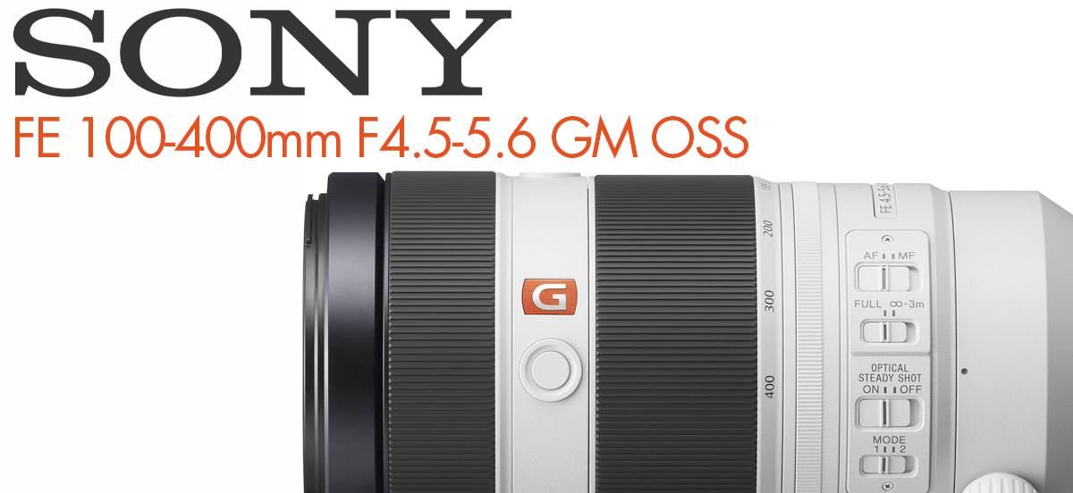 Objectif Sony 100-400mm FE