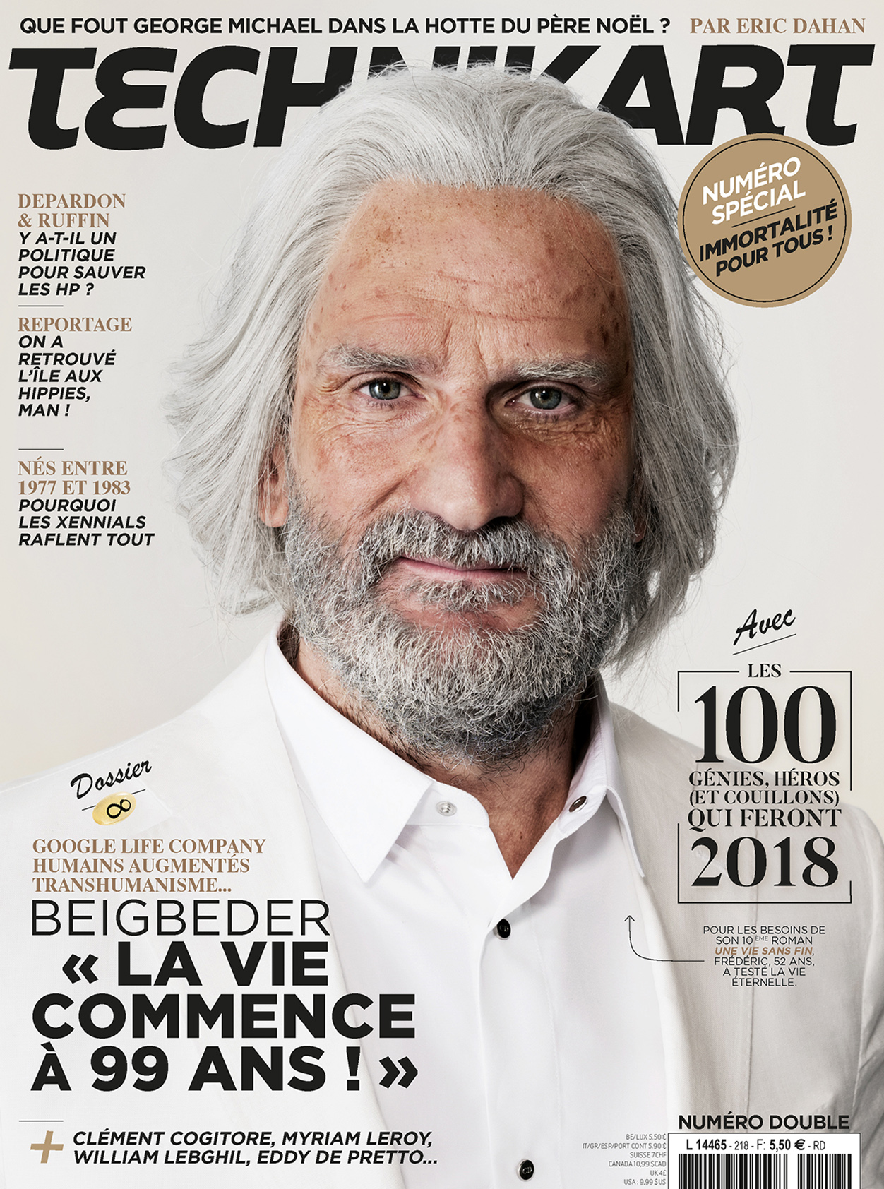 Frédéric Beigbeder par Sébastien Vincent
