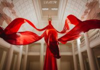 Haze Kware - Red Blossom - Virginia Dahn-Pavillon Joséphine