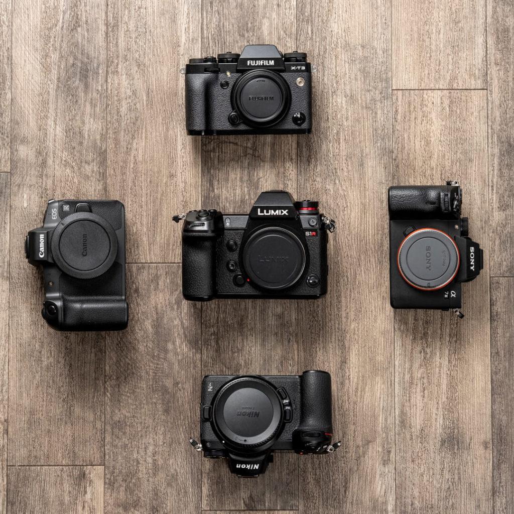 Appareils photos hybrides : Sony, Canon, Nikon, Fujifilm et Lumix